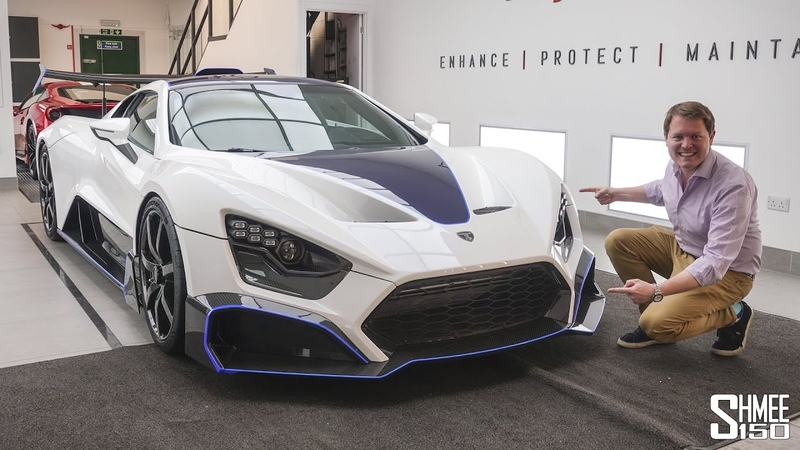 FIRST Full Look at the BRUTAL Zenvo TSR S