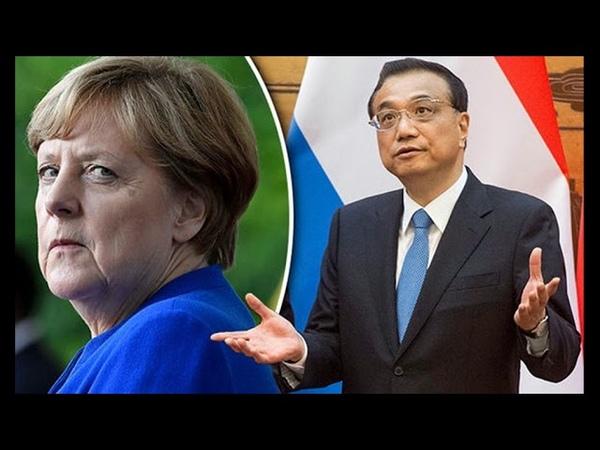 MERKEL VERKAUFT UNS AN CHINA