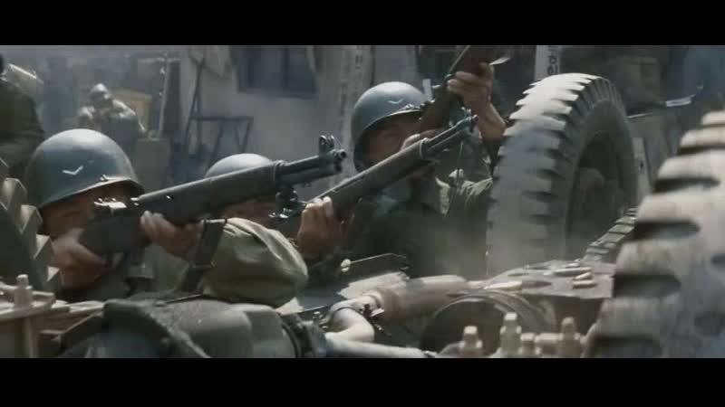 Уличные бои в Пхеньяне осенью 1950 года (38 параллель)