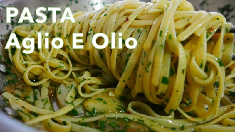4K Pasta Aglio E Olio from Movie Chef 알리오 올리오 파스타 feat 아메리칸 셰프