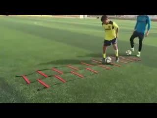 Футбольные упражнения из академии Вильяреала