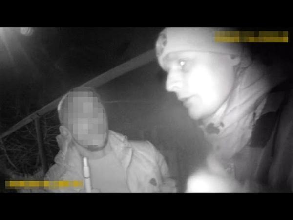 Двоє в Тойоті опівночі в Лисичанську намагались втекти від патрульної поліції