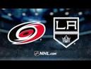 Carolina Hurricanes vs Los Angeles Kings Oct 15 2019 NHL 19 20 Game Highlights Обзор матча