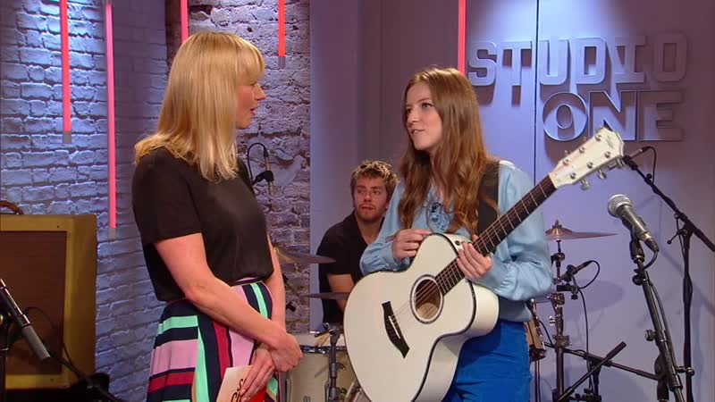 S01E33 author Janet Ellis and comedians Cariad Lloyd and Rachel Parris Plus live music from Jade Bird
