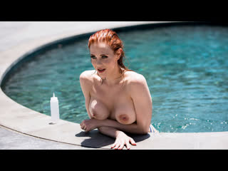 Maitland Ward - Wet And Wild [Brazzers] Big Tits, Blowjob (POV),  Redhead, Small Ass, Tattoo