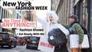 New York Fashion Week Vlog GRWM Modeling On The Runway Sanne Vloet