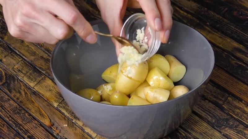 Много чеснока, много вкуса – идеальный рецепт куриной грудки!