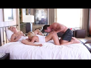 Anikka Albrite And Carmen Monet - Threesome Fantasies Fulfilled [All Sex, Hardcore, Blowjob, Gonzo]