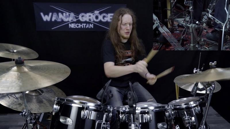 Keep Of Kalessin Universal Core Drum Cover by Wanja Nechtan Gröger