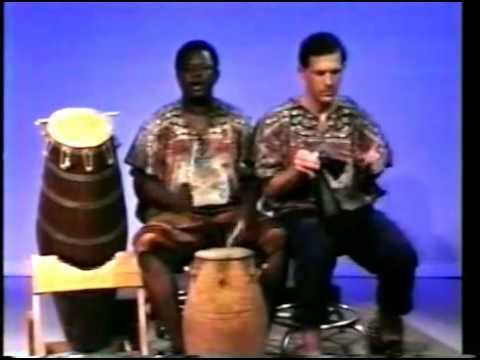 Call Response - Voice (as Lead Drum) with Kidi (Support Drum) - ATSIA - Ewe people of Ghana