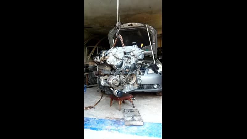 отремонтирован VQ35DE