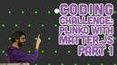 Coding Challenge 62.1: Plinko with Matter.js Part 1