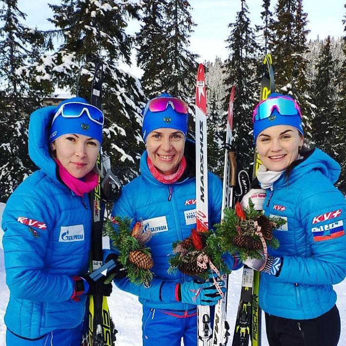 на фото: Екатерина Глазырина, Ирина Старых, Наталья Гербулова