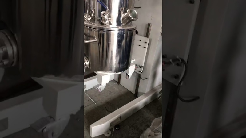 150L dual planetary mixer testing custom is doing the silicone sealant