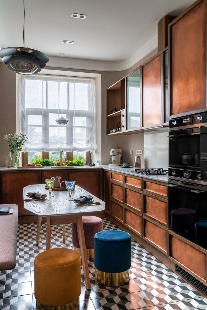 Квартира 93 м² в доме начала XX века в Санкт-Петербурге от Ольги Щукиной и Любови Борисовской