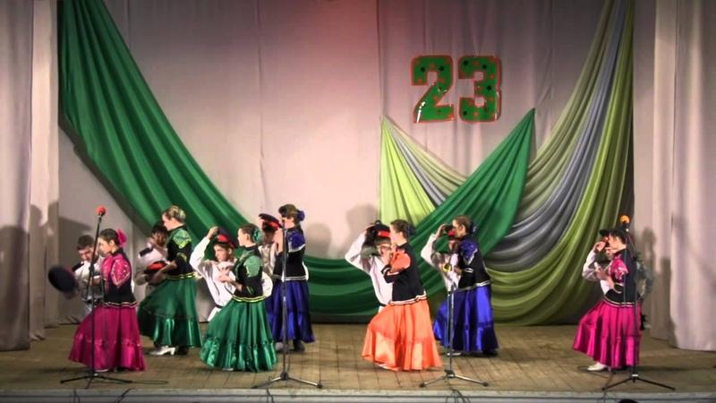 Праздничный концерт ко дню защитника Отечества 23 февраля 2015 года Лутугино1