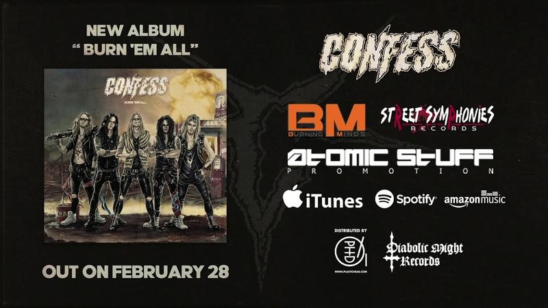 Confess Burn 'em All Official Album Teaser