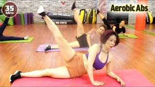 Senam aerobik body language mengecilkan perutl 35 menit Senam Aerobik untuk pemula di rumah
