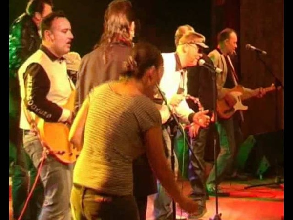 CRAZY CAVAN AND THE RHYTHN ROCKERS - WHOLE LOTTA SHAKIN' GOIN' ON