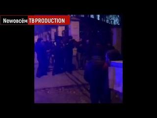 Пьяный Александр Емельяненко устроил ДТП на Мерседесе с чеченскими номерами Задержание толпой