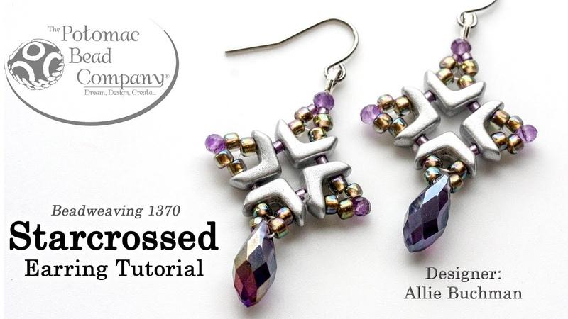 Starcrossed Earrings - Beadweaving Tutorial