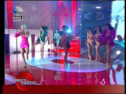 Andreea Balan Crazy about you @ Drept la tinta Kanal D 7 dec