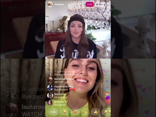 Little Mixs Instagram Live Stream with Jesy, Perrie , Leigh-Anne and Jade (03/04/2020)