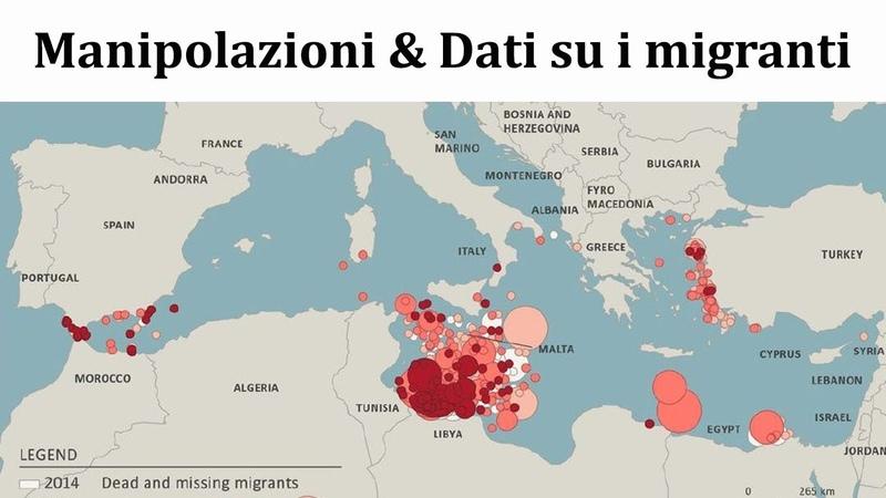Manipolazioni Dati su i migranti