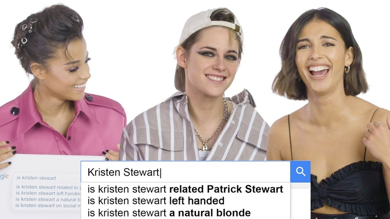 Kristen Stewart Naomi Scott and Ella Balinska Answer the Web s Most Searched Questions WIRED