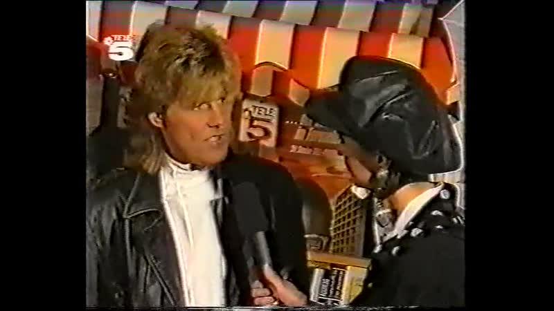 Dieter Bohlen interview (Tele Shop - TELE5 1989)