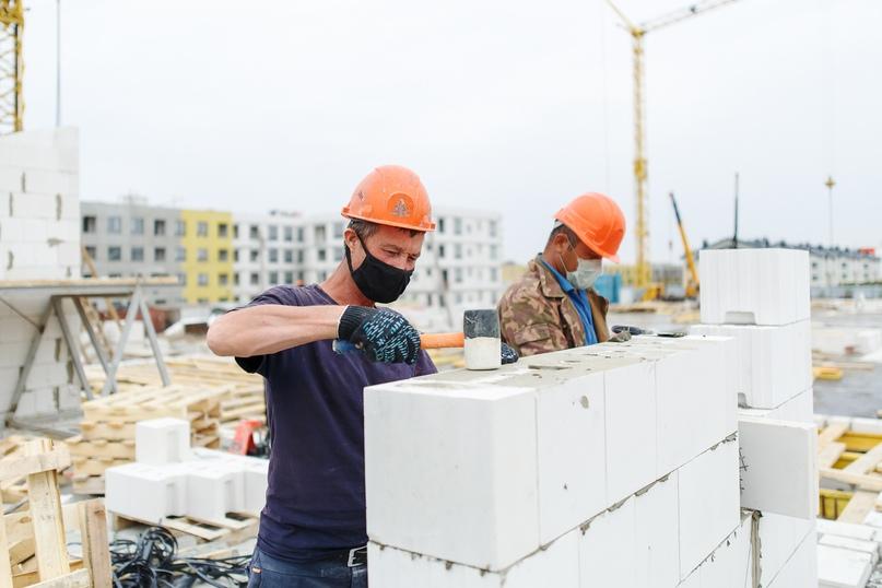 Отчет о ходе строительства квартал «Среда» май 2020, изображение №23