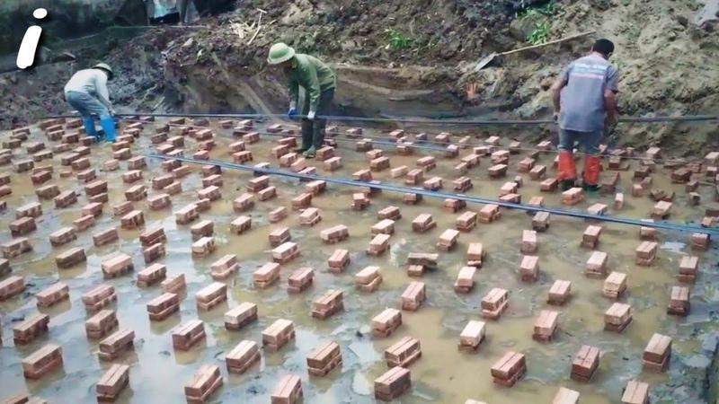 Я строитель 45 лет. но я никогда не видел такой техники раньше гениальные работники. 5