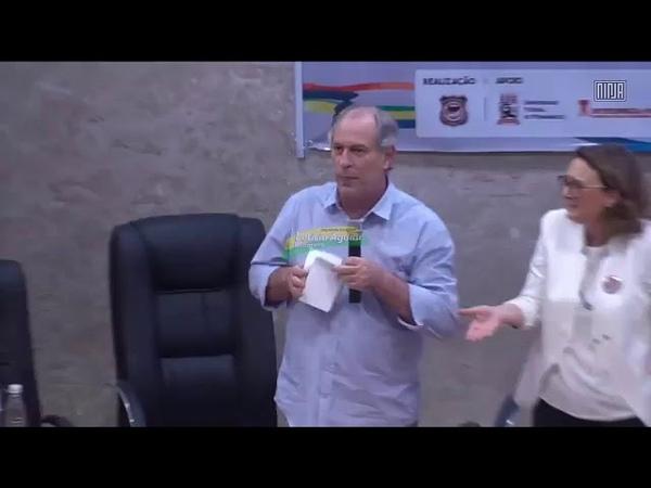 Ciro Gomes humilha Maria do Rosário