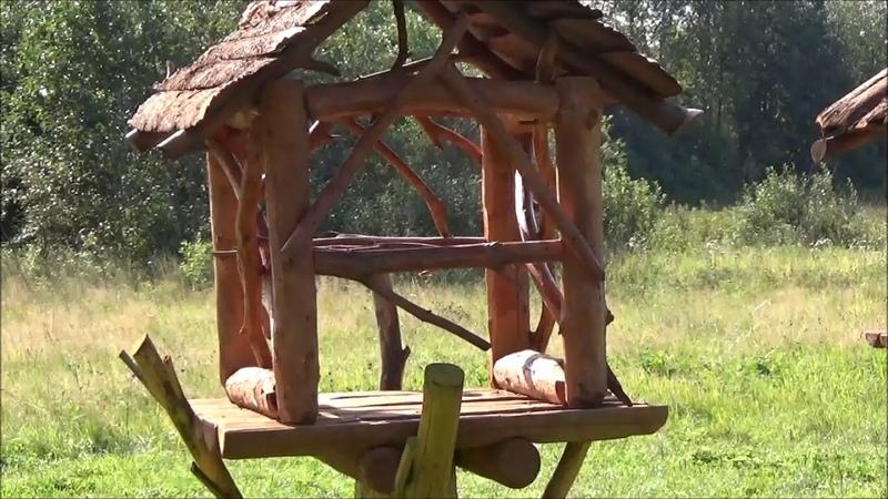 На Гайвинских лугах построили деревянный городок
