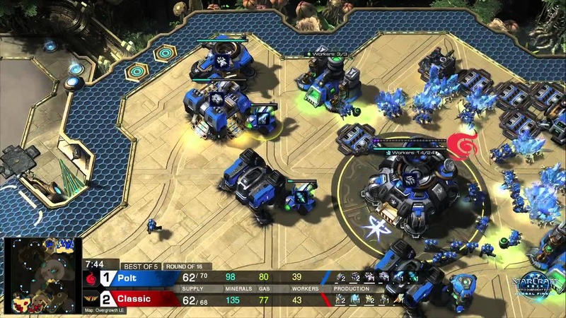 Polt vs Classic TvP Game 4 Ro16 WCS Global Finals 2014 Starcraft 2