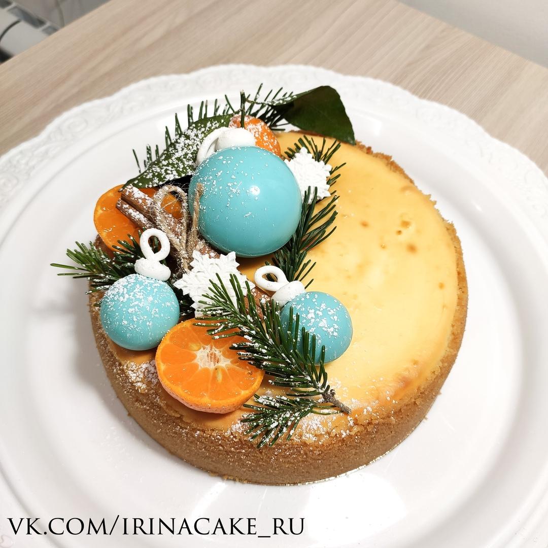 Классический новогодний чизкейк (Арт. 590)