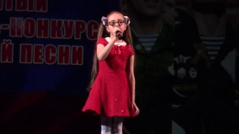Анечка Кристинина 8 лет Сочи 2018