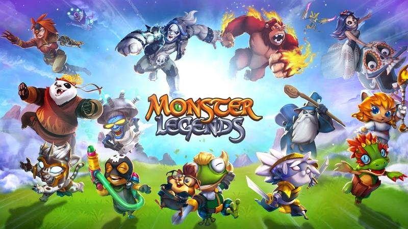 [Обновление] Monster Legends - Геймплей | Трейлер