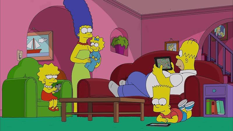 Моя пародия на Мардж Лизу Симпсон