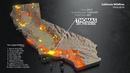 Animated Maps California Wildfires from 1910 2019