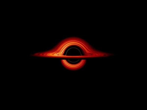 В NASA наглядно показали искривление пространства времени чёрной дыры