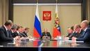 Владимир Путин провел совещание по вопросам ликвидации последствий паводков