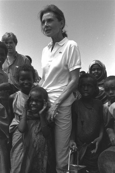 Девочку спасли от голода в 1944-м