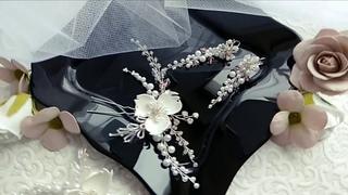 DIY Wedding hair accessories Hair Pin / Шпилька для волос украшения своими руками ✨TamireStudio✨