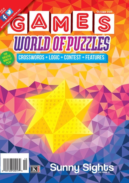 Games World of Puzzles – October 2019