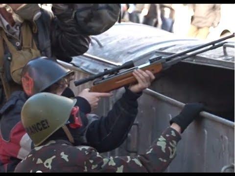 Acciones ilegales de 'manifestantes pacíficos' en Kiev