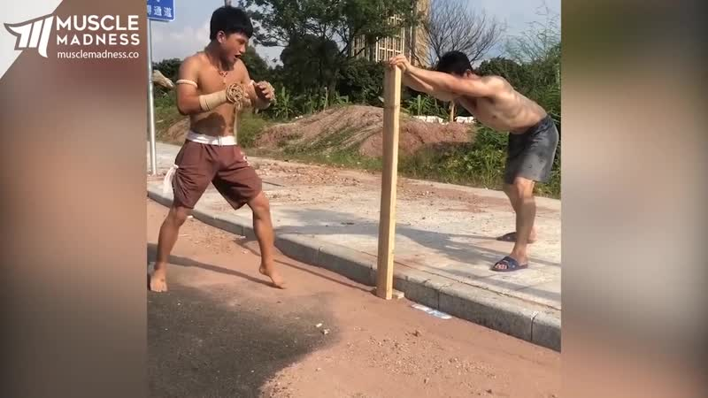 Ong Bak in Real Life Muscle Madness