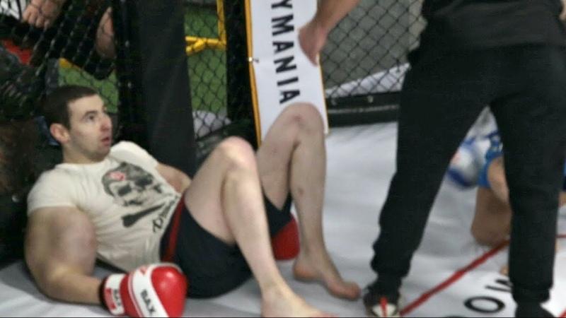 Бой Руки Базуки vs Гена Собака! Отхватил бедолага