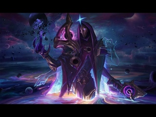 Dark Cosmic Jhin - Russian Voice - League of Legends
