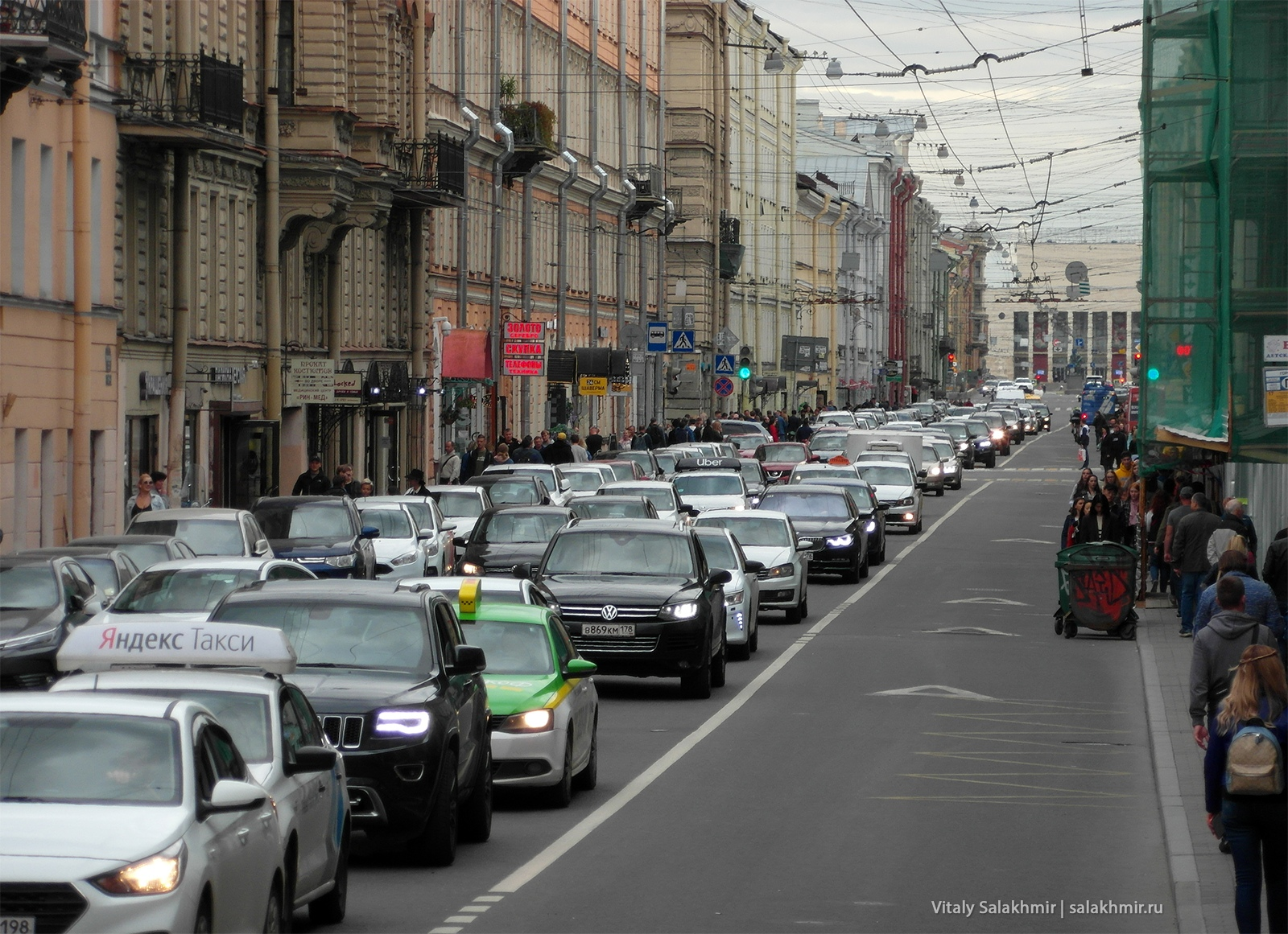 Центр Санкт-Петербурга, лето 2019